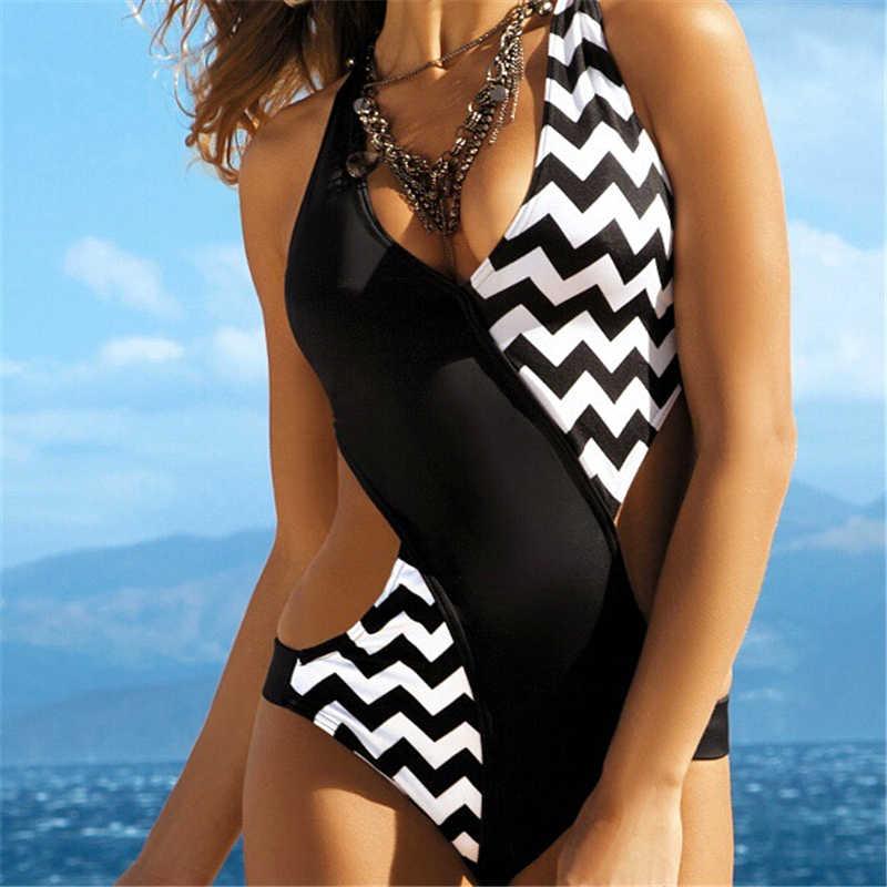 2021 ملابس سباحة نسائية صيفية قطعة واحدة مايوه بيكيني مونوكيني تريكيني موخير بادباك مايوه نسائي بكيني
