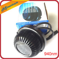 New Invisible illuminator 940NM infrared 140 Degree 10w LED IR Lights for CCTV Security 940nm IR Filter HD Camera