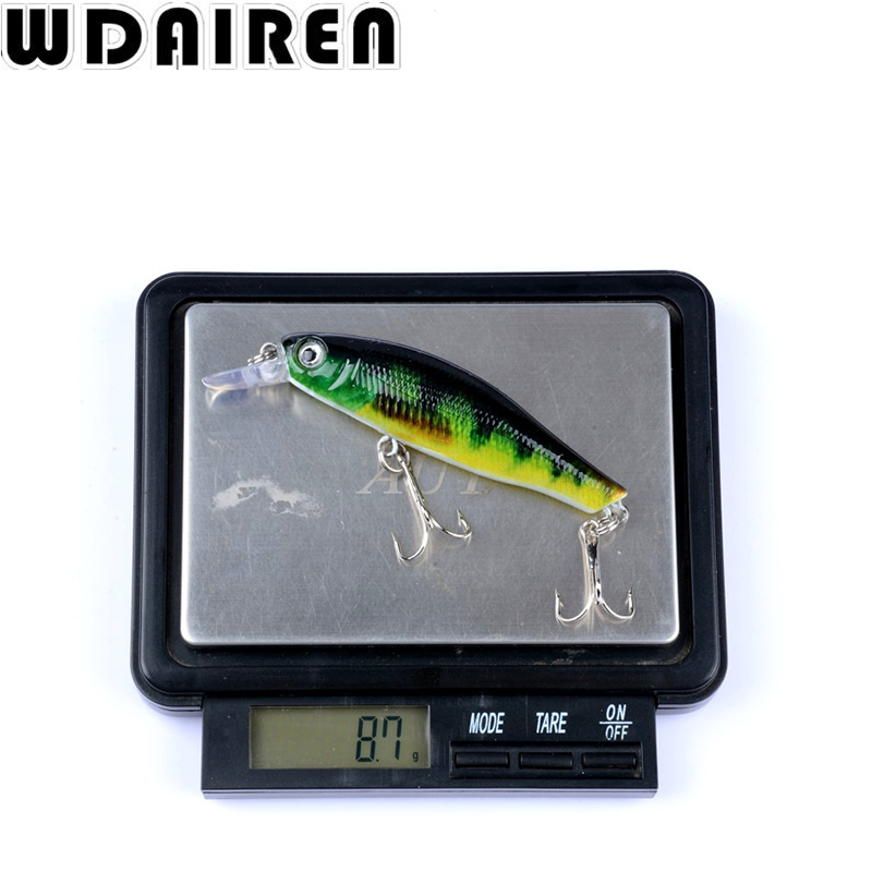 1Pcs Fishing Lure 8.5cm 8.7g Wobbler Minnow Baits Kunstig Japan Hård - Fiskeri - Foto 6