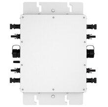 Микро инвертор MPPT чистая синусоида солнечный инвертор 1200 Вт 22-50 В DC Вход Беспроводной Связь Функция с 2 м кабель переменного тока