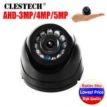 Wholesale Super mini CCTV AHD Camera Dome 5MP 4MP 3MP 1080P SONY-IMX326 Digital HD Indoor IR infrared Security color Video