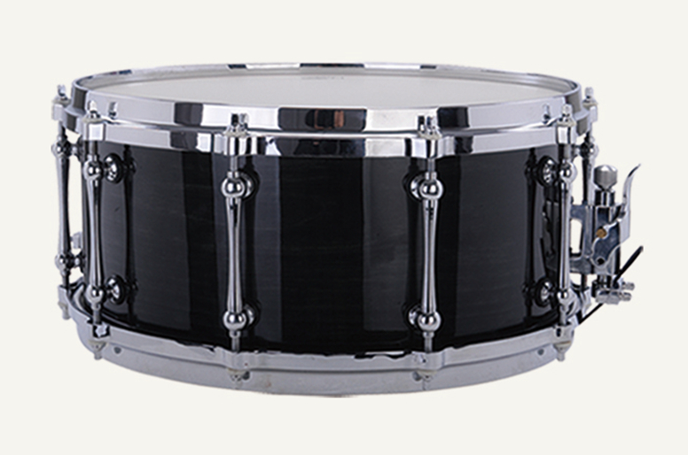 buy snare drum 14 6 5 black painting polyester drumhead musical instruments. Black Bedroom Furniture Sets. Home Design Ideas