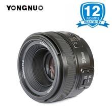 YONGNUO YN 50mm F1.8 grande abertura YN50mm auto focus lens Para Nikon D800 D700 D300 D3300 D3200 D5100 D5200 D5300 DSLR Camera