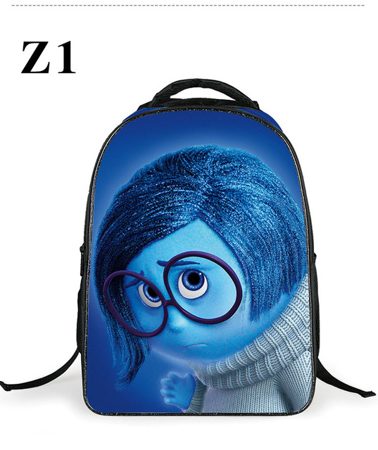 2017 Children's School Bag Inside Out Bookbag Cartoon School Bag ...