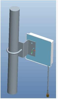 2.3 - 2.7 G antena exterior direccional del panel LTE 4 G 2700 M wifi antena de parche