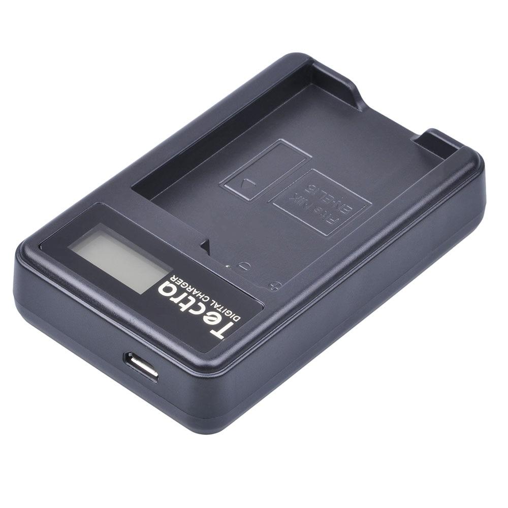 fdf3c094216ce ⑧Tectra 2 Pcs EN-EL15 Bateria Da Câmera + Carregador USB LCD para ...