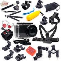 Mijia Waterproof House Case Accessories kit Underwater box float Tripod Clip for xiaomi mijia small mini action sport camera kit