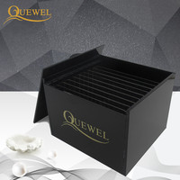 Acrylic Eyelash Glue Lash Holder Separator Adhesive lash box Pallet Extension Tool Quewel Individual Lashes 10 pcs Holder/Case