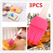 Multifunctional Silica Gel Brush High Temperature Resistant Small Barbecue Baking Cake Kitchen Tool