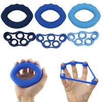 PROCIRCLE 6 teile/los Muscle Power Training Silikon Grip Ring Exerciser Stärke Finger Hände Grip Fitness Musculation Ausrüstung