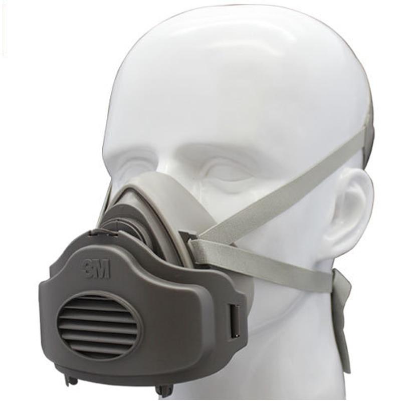 3M 3200 + 10pc3701CN Զտիչ բամբակ կես դեմքի GAS - Անվտանգություն և պաշտպանություն - Լուսանկար 3
