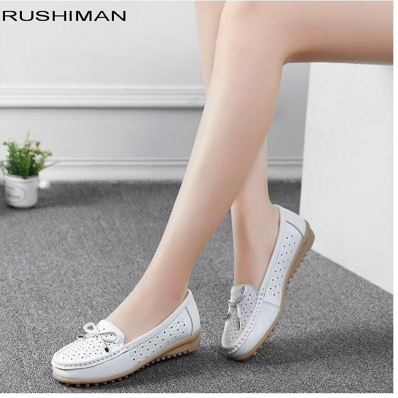 Spring Summer Flat Shoes Women Flats ladies Dress Shoes Sneakers white loafers slip On Casual shoe Womens Shoes casual dress