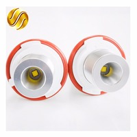 2 Pieces 1 Set 5W CREE Chip LED Marker Angel Eyes 7000K XENON White For E39