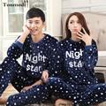 Pajamas For Women Autumn And Winter Lovers Men Sleepwear Flannel Thickening Warm Pyjamas Couple Pajamas Sets 3XL