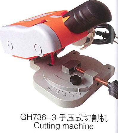 Hand pressure type cutting machine for gold silver diamond jadeHand pressure type cutting machine for gold silver diamond jade