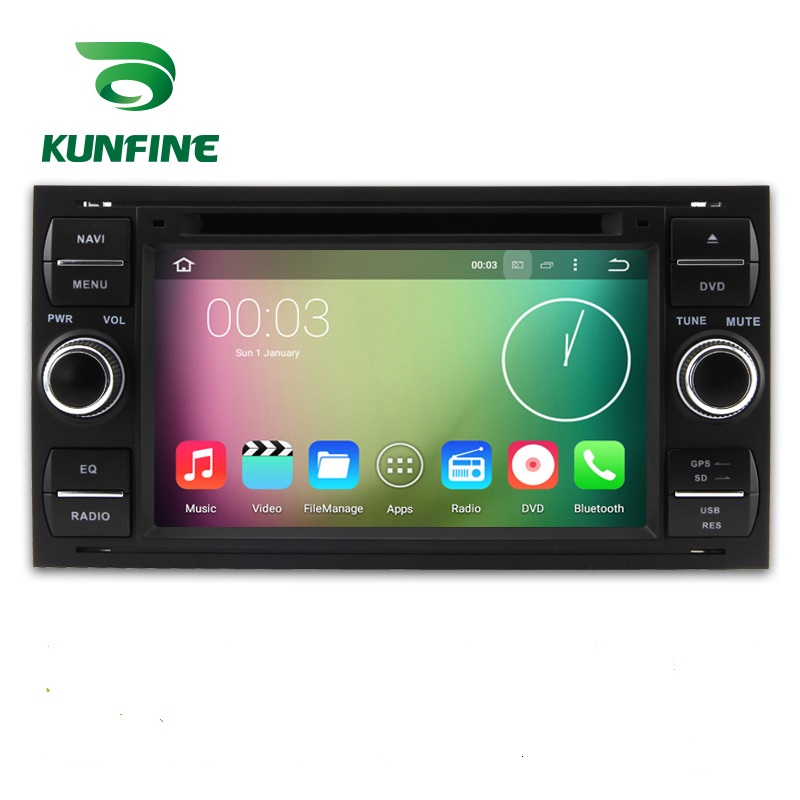 Android 7.1 Quad Core 2 GB Auto DVD GPS Navigation Spieler Autoradio für <font><b>Ford</b></font> <font><b>focus</b></font> 1999-08 Schwarz <font><b>radio</b></font>-headunit Bluetooth WIFI image