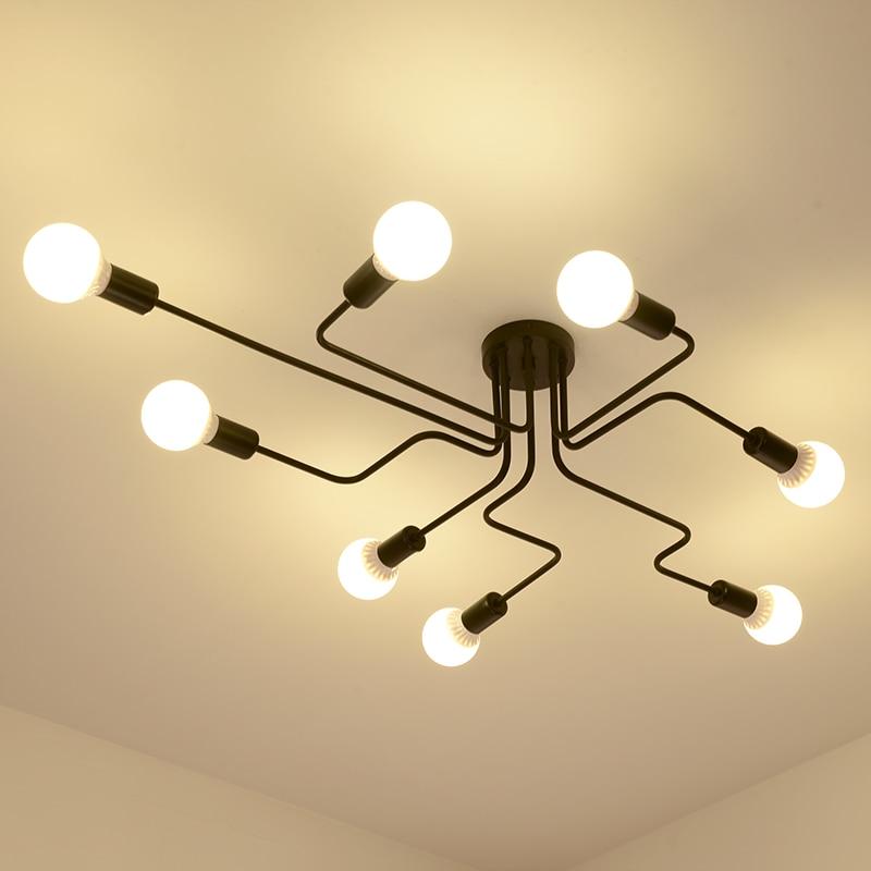 American Vintage Ceiling Lights modern Lighting Fixtures цены онлайн
