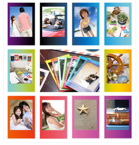 Image 4 - For Fujifilm Instax Mini 8 9 Camera Film Sheets Pack   30 Exposures Instant Mini Photos    Rainbow , Shiny Star , Stripe Frame