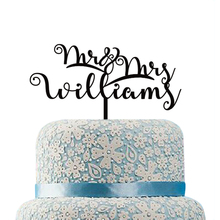 Personalized Wedding Cake Toppers Unique Wedding Cake Topper Decorations Mr and Mrs Engagement Cake Topper Rustic