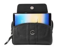 Horizontale Riemclip Mobiele Telefoon Lederen Case Pouch Voor Galaxy S8/S8 PLUS/S6 RAND PLUS/S7 EDGE/NOTE 5/NOTE RAND
