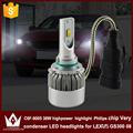 Night Lord 2pcs car led 9005 Headlight Head lamp 9005 HB3 High beam Head light C6F 6000K white FOR GS300 2008 only