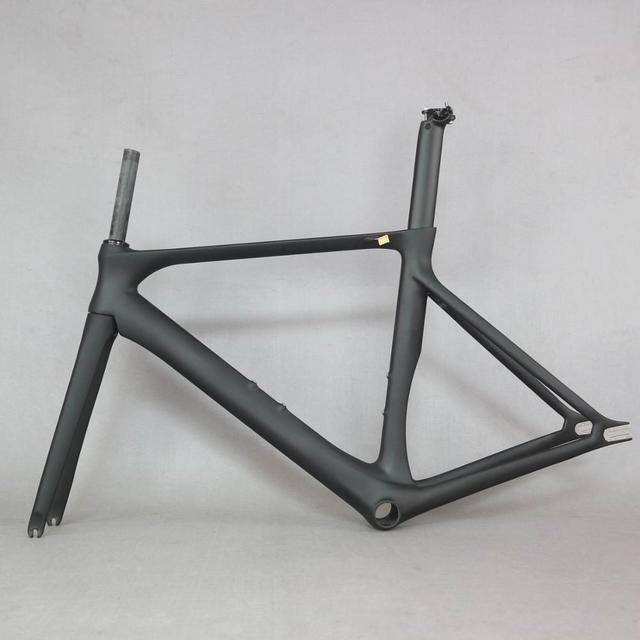 2019 SERAPH  bike carbon fixed gear have brake fixed gear  bike frame with BB86 carbon fixed bike frame aero bicycle frame 5