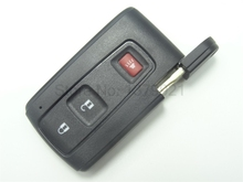 Новый Keyless Smart Remote Ключевые Shell Дело Fob 2 + 1 Кнопка для Toyota Prius 2004-2009 С небольшим ключ НЕТ Логотипа