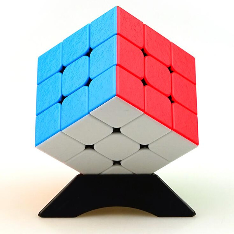 1Pcs Smooth Gem Cube Puzzle Brain Teaser Magico 3x3x3 Speed Cubo Hand Spinner Kids Gifts Educational