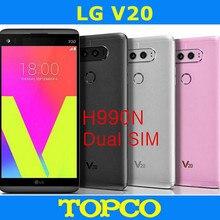 """LG V20 Dual H990N разблокированный LTE Android мобильный телефон четырехъядерный 5,"""" 16 МП камера Две sim-карты ram 4 Гб rom 64 Гб NFC"""