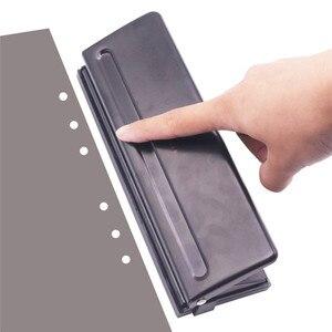 Image 1 - Poinçon Standard, 1 pièce 6 trous, fournitures de reliure de bureau, papeterie détudiant, bon outil