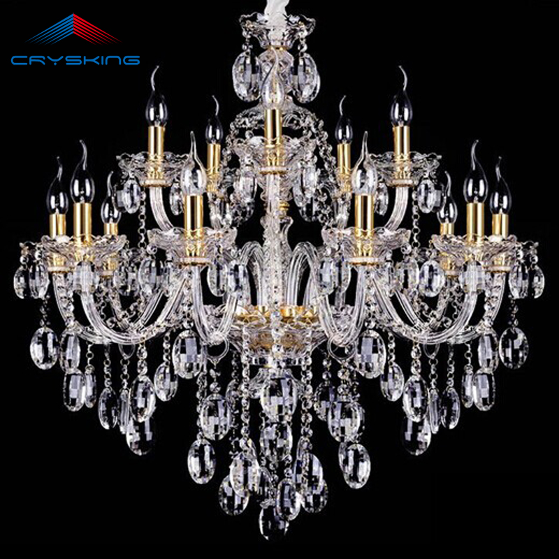 Lustre Modern LED Crystal Chandelier Lighting Ceiling Chandeliers Home Lighting Luminaire Living Dining Room Bedroom Chandeliers