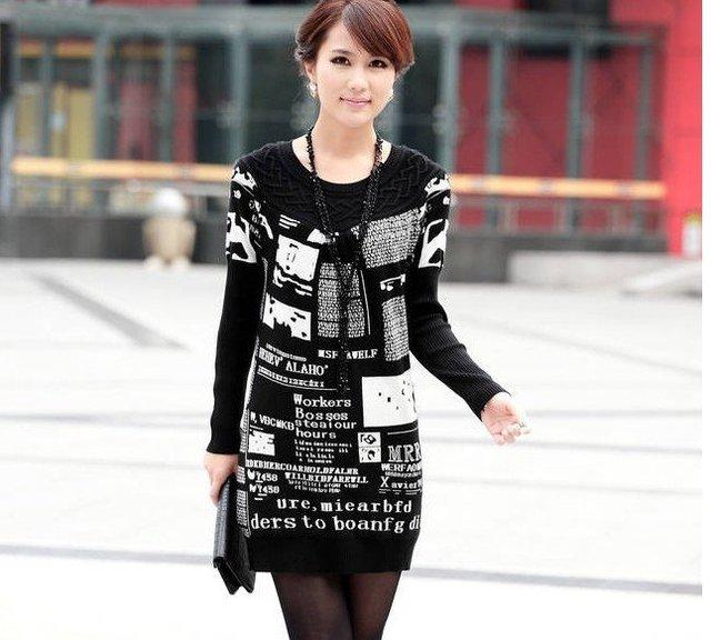 Nueva Planta un código para restaurar maneras antiguas suéter grande flojo suéter hecho punto suéter al por mayor