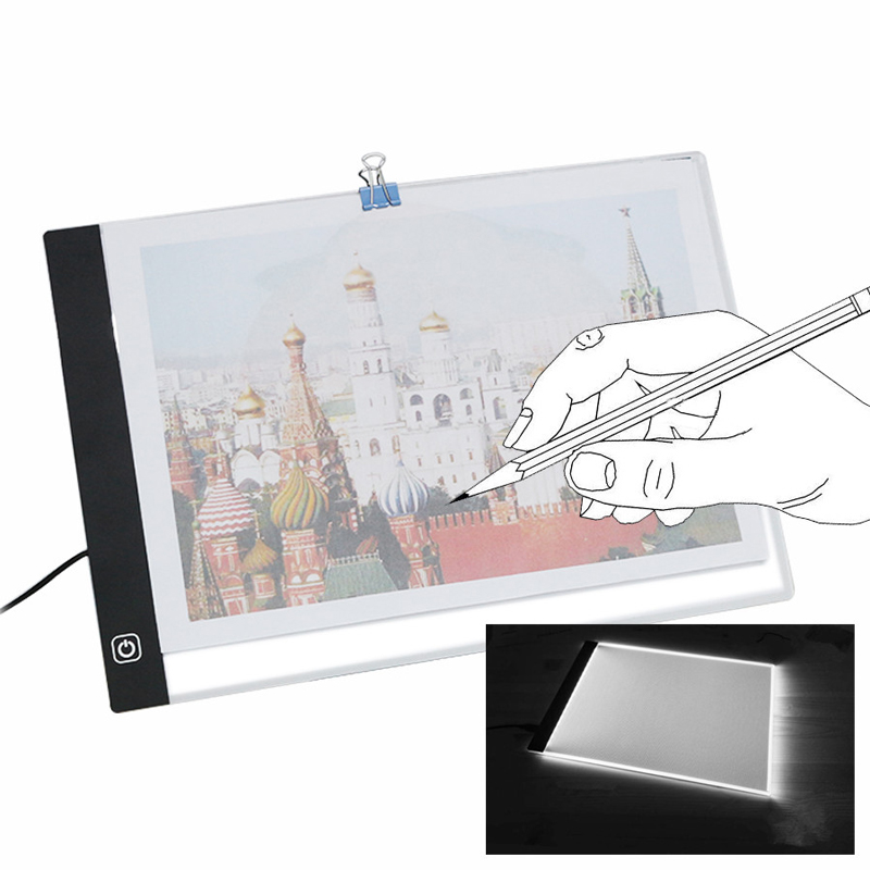 A3 USB LED Writing Painting Light Box Tracing Board Copy Pads Drawing Tablet Artcraft A3 Copy Table LED Board amzdeal a4 led writing painting light box tracing board copy pads drawing tablet artcraft a4 copy table led board