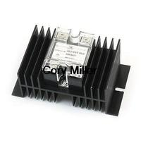 4 20mA To AC28 280V 50A Current Control One Phase Solid State Relay W Heat Sink