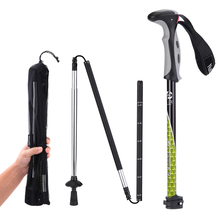 Cheapest prices Naturehike Walking Stick Climbing Outdoor  Rod Carbon Ultra Light 4 Section Telescopic Folding Cane Professional Trekking Pole