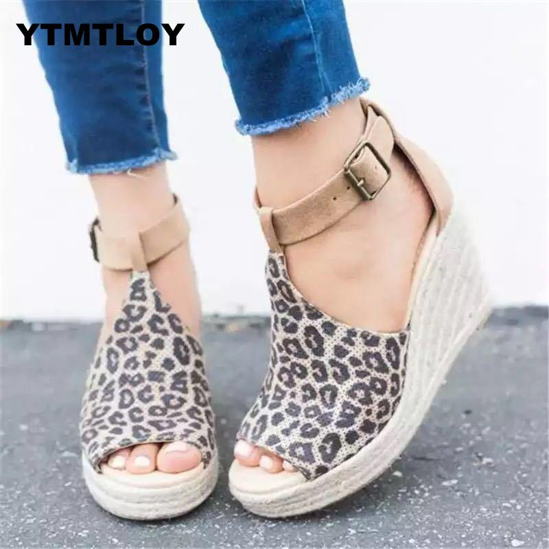 2019 Summer <font><b>High</b></font> Wedges <font><b>Heels</b></font> <font><b>Sandals</b></font> Fashion Open Toe Elevator Women Shoes Plus Size Pumps <font><b>Platform</b></font> <font><b>Sandals</b></font> <font><b>Sexy</b></font> Gladiator image