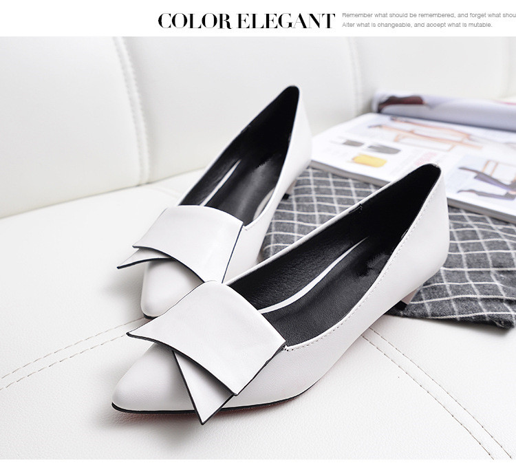 SHIDIWEIKE-2018-New-Pointed-Toe-Low-Heel-Pumps-Black-Red-White-Shallow-Mouth-1-5cm-Thick (2)