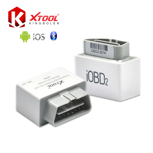 Xtool iOBD2 OBD2 /EOBD Work for iOS &Android Via Bluetooth Support 10 Languages New Arrival Car Reader Scanner Free Shipping