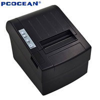 5PCS 80mm Pos Printer High Speed Thermal Receipt Printer Automatic Cutting USB Ethernet Ports 300 Mm