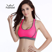Wire Free Seamless Solid Fitness Bras
