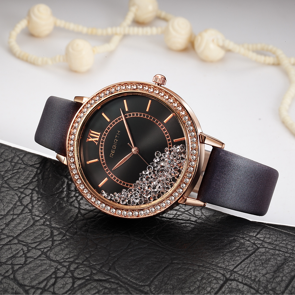 Luxury Rose Gold women bracelet watches ladies fashion Rhinestone Dress quartz watch Relogio Feminino montre femme купить