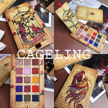 Cageling 15 Colors Eyeshadow Palette Shimmer Matte Glitter EyeShadow Pallete Pigment Long-Lasting Waterproof Makeup