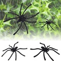Hot Worldwide 20pcs/set Costume Party Halloween Fake Children's toys simulation Spider Funny Joking Toys