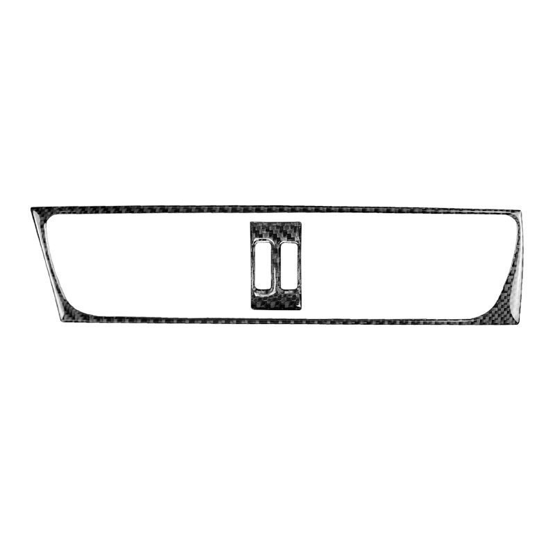 For Audi A4 B8 A5 Q5 2010 2011 2012 2013 2014 2015 2016 Carbon Fiber Center Control Air Conditioner Outlet Frame Cover Trim-in Interior Mouldings from Automobiles & Motorcycles