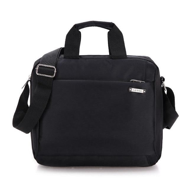 New Men S Business Briefcase Bag Nylon Handbags Messenger Bags Travel Leather Bolsas50