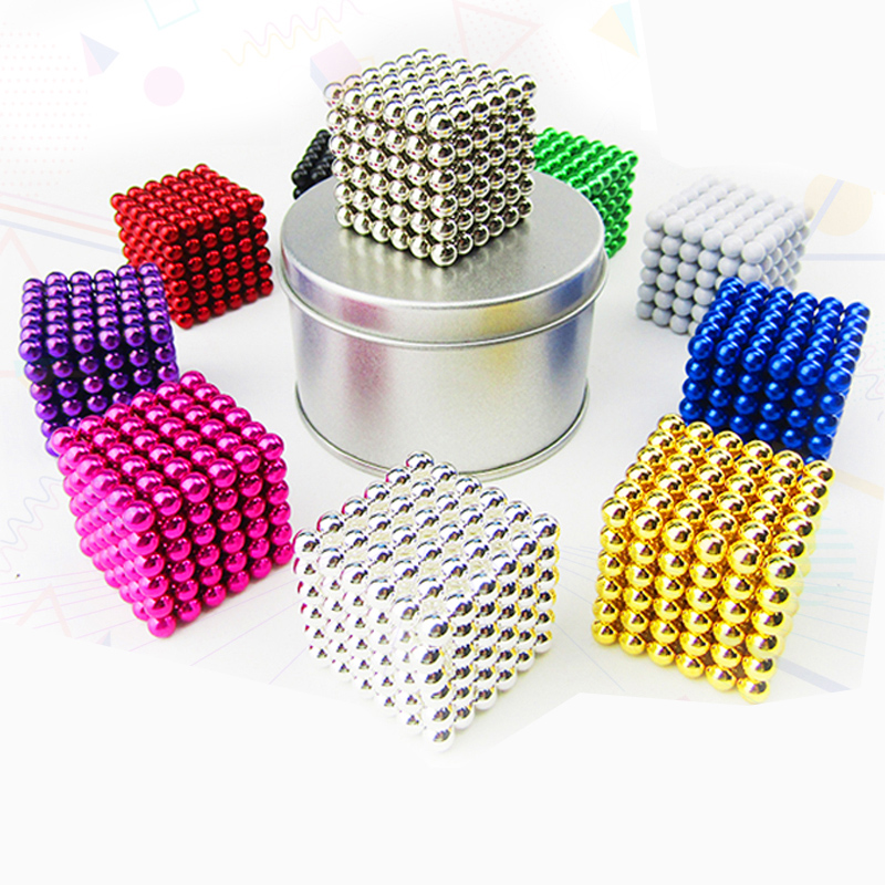 222 pcs NdFeB Magnet Balls 5mm diameter Strong Neodymium Sphere D5 ball Permanent Magnets Rare Earth Magnets with Gift Box Bag 8mm neodymium magnet sphere steel balls diy puzzle set silver 20 pcs