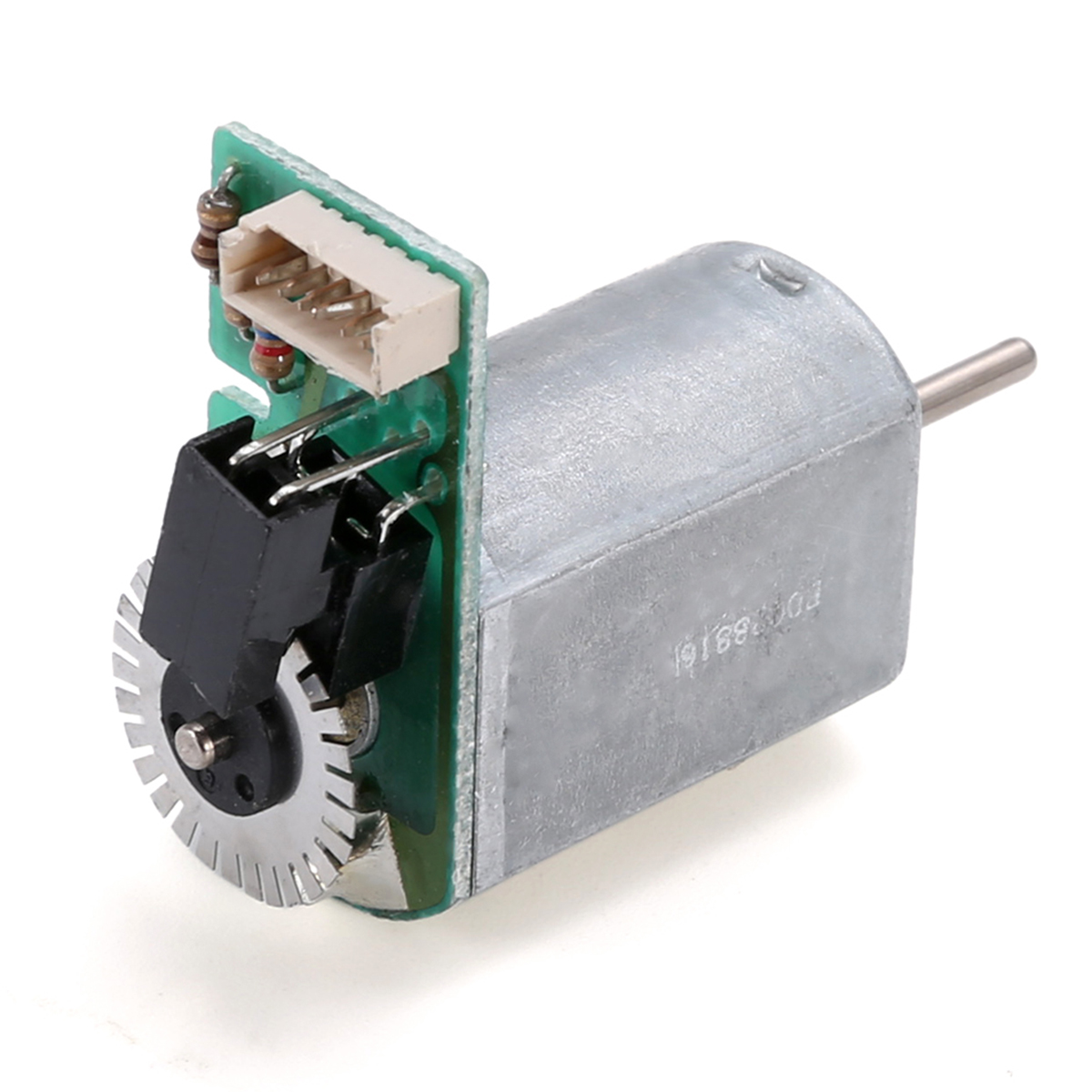 Mayitr DC 6V-12V 130 Motor 7800RPM Mini Motor with Metal Speed Encoder Tachometer Motor AB Phase Long service life