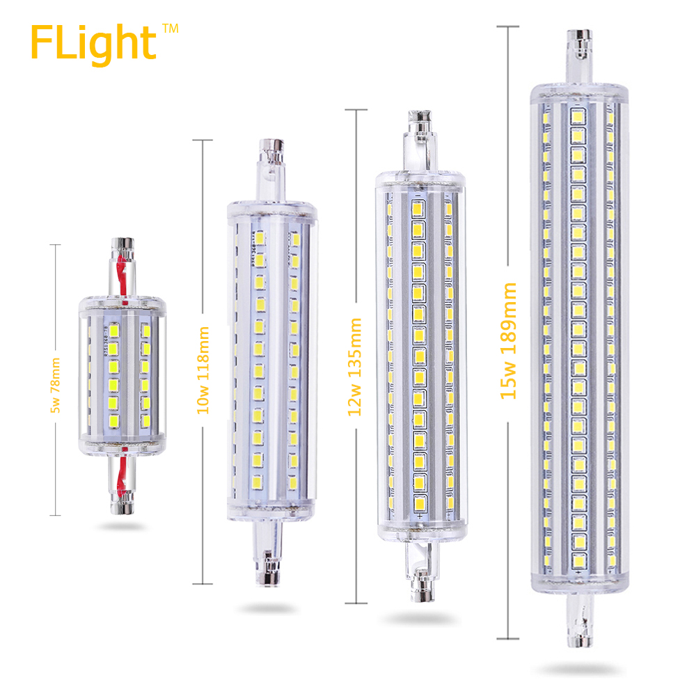 r7s bulb led lamp 5w 78mm dimmable smd2835 led 10w 118mm. Black Bedroom Furniture Sets. Home Design Ideas