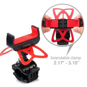 Univerola vélo et moto Support de téléphone pour iPhone Xs Samsung Galaxy Support de guidon universel pour vtt GPS Support de vélo 2