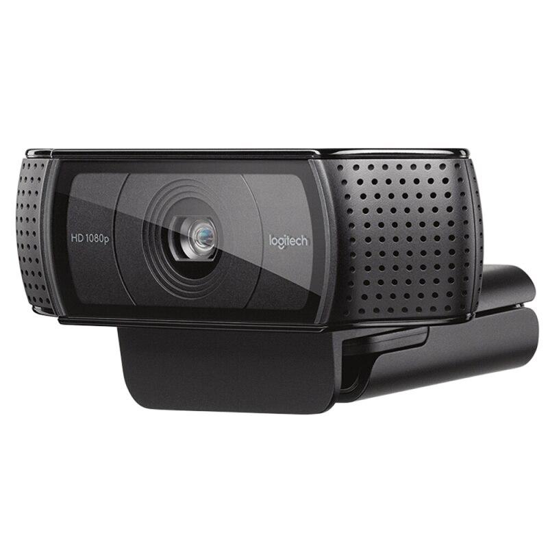 Cámara web Logitech HD Pro C920e, llamada y grabación de vídeo panorámica, cámara 1080 p, ordenador portátil o de escritorio Webcam C920 versión de actualización - 4
